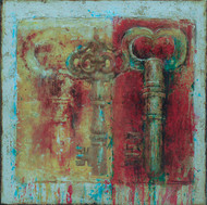 """Now and Then (24""""x24"""")"""