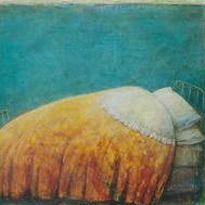 """My Grandmothers Bed (50""""x60"""")"""