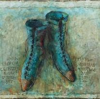 "Grandmothers Booties (22'x30"")"