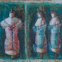 """Mannequins from Moscow Album No.2 (40""""x48"""")"""