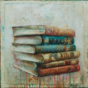 "Poetry Books (30""x30"")"