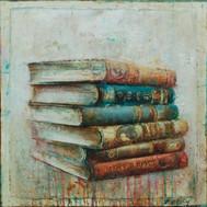 """Poetry Books (30""""x30"""")"""