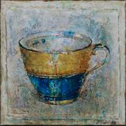 """Tea Cup No.1 (24""""x24"""")"""