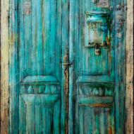 """Blue Door (52'x35"""")"""