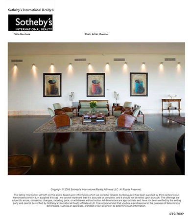 Sotheby's interior design