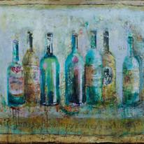 "Bottles No.7 (30""x40"")"