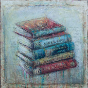 "My Books (30""x30"")"