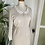 Thumbnail: 1960s Cream Dress with Lace Trim