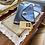 Thumbnail: Leather Navy Envelope Clutch