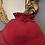 Thumbnail: Burgundy Red Wool Felt Childs Hat