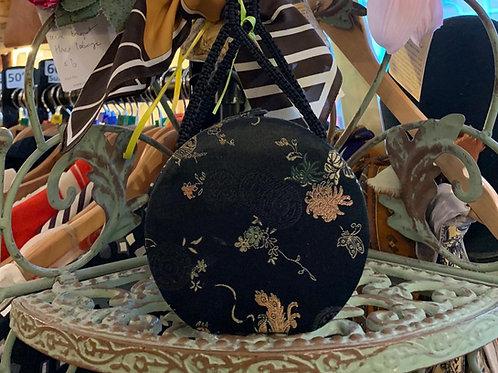 Chinese Silk Box Bag