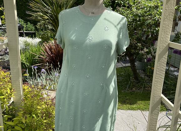 1960s Linen Shift Dress