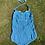 Original 1950s Cotton Swim Suit by Aquapoise front  view