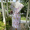 1960s Cotton Shift Dress Back View