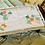Thumbnail: Appliqué  Vintage Tray Cloths & Case