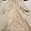Thumbnail: Floaty Chiffon Cream 1970s Dress