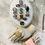 Thumbnail: Diamanté Flowerer Ring