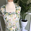 1940s Lightweight  Daisy Floaty Dress Front View