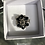 Thumbnail: Black Stone Silver Ring
