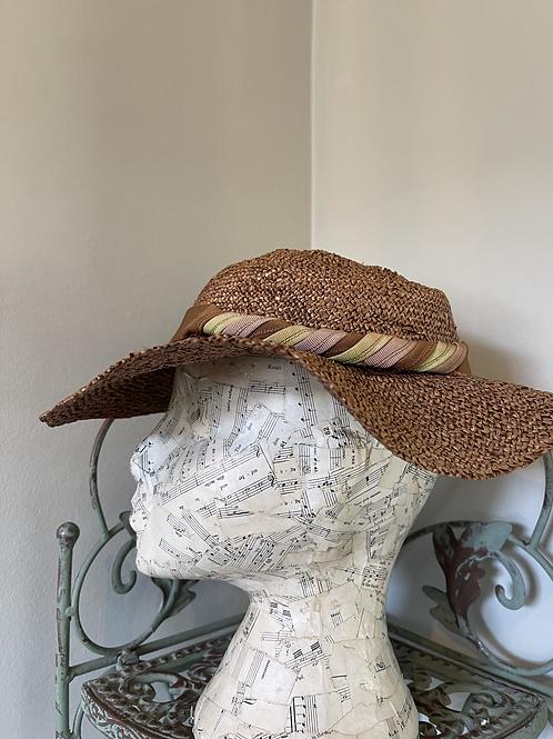 Brimmed Straw Hat