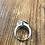 Thumbnail: Black & Clear Stone Ring