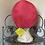 Thumbnail: Coral Pink Turban Style Hat