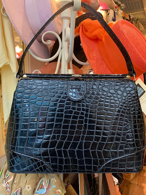 Oversized Moc Croc Handbag