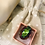 Thumbnail: Adjustable Large Green & Pink Stone  Ring