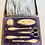 Thumbnail: 1920s Boxed Silver Manicure Set
