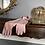 Rose Pink Vintage Gloves