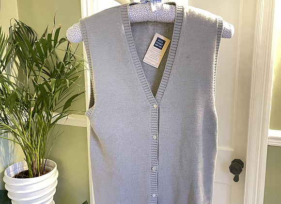 Grey Cotton Mix Waist Coat