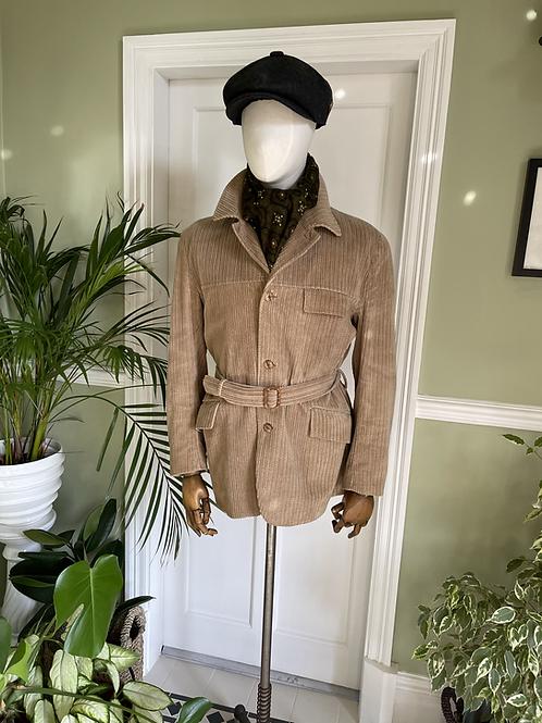 Light Brown Corduroy Jacket