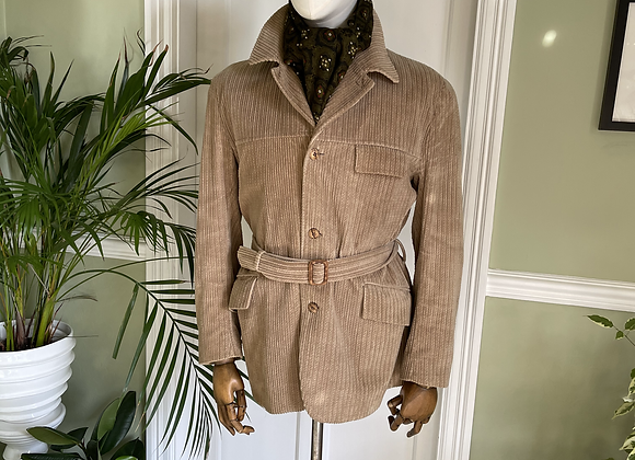 Light Brown Corduroy Jacket