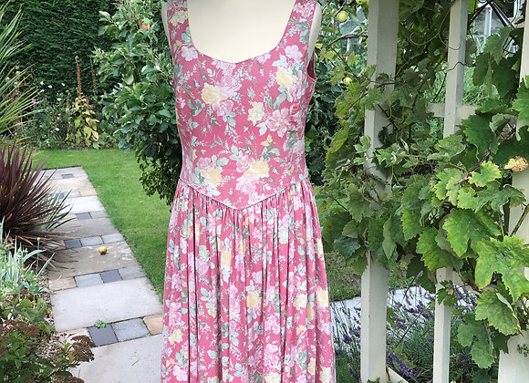 80's Chintzy Laura Ashley Dress