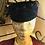 Thumbnail: Velvet Pill Box Hat with Veiling