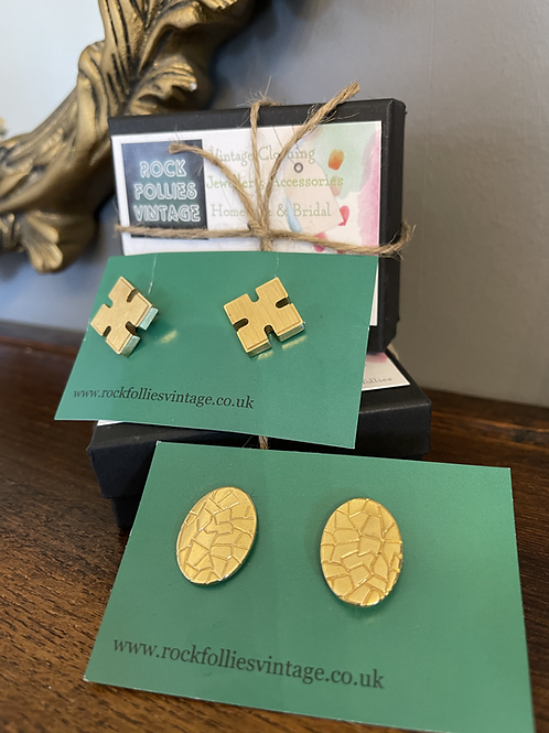 Easter Egg & Puzzle Cuff Links