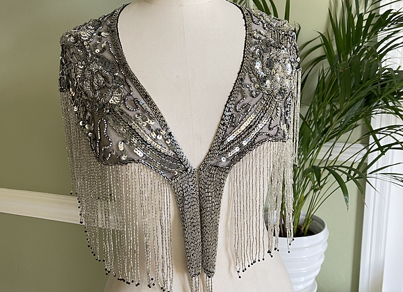 1920s Style Beaded Capelet