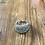 Thumbnail: Adjustable Gun Metal Chrystal Cluster Ring