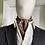 Thumbnail: Vintage Cravat - Navy and Orange