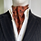 Thumbnail: Vintage Cravat - Tans & Orange