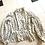 Thumbnail: 1970s Puff Ball Hemmed Skirt & Blouse
