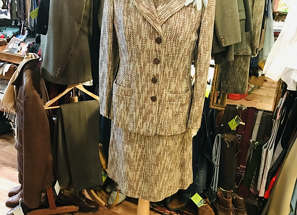 1940s Dress & Jacket Suit