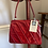 1950s Patent Leather Frame Handbag Front View