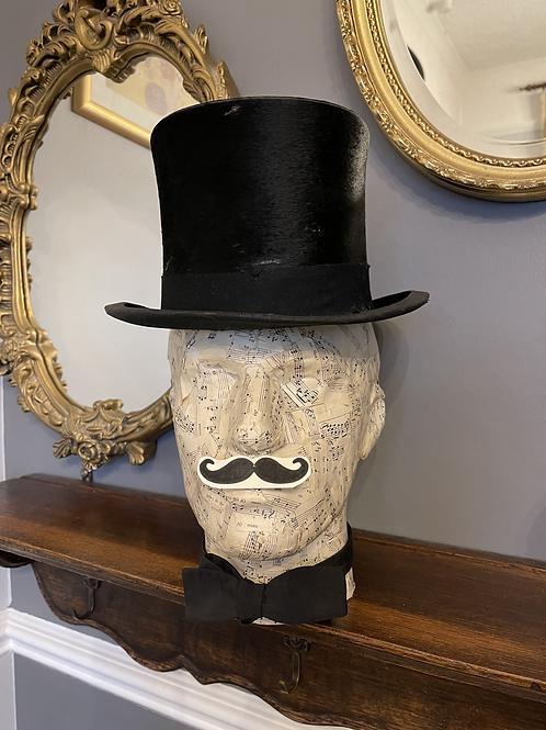 Edwardian Top Hat & Box