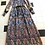 1970s Paisley print Cotton mix Maxi Dress By Kati Flat View