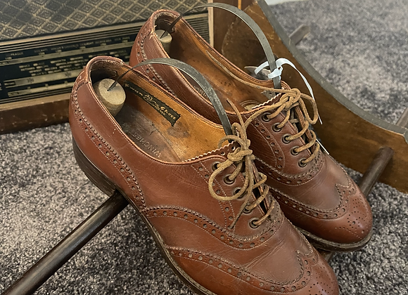Tan Leather Brogues