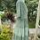 Thumbnail: 1960s Tiered Cotton Dress with Kimono Sleeve