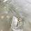 Thumbnail: Red Stone  Diamanté Ring