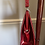 1950s Patent Leather Frame Handbag Side View