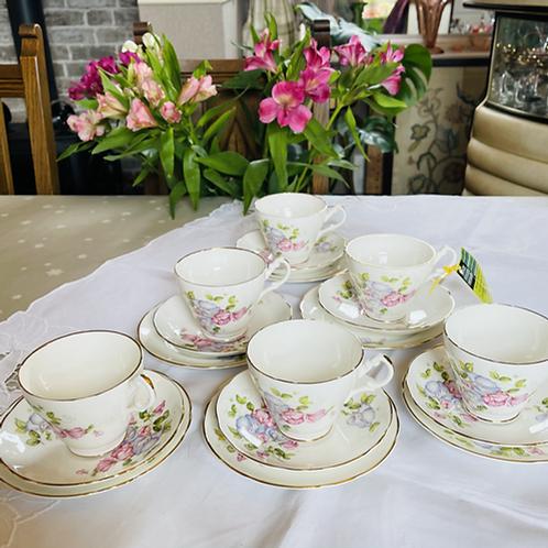 Bone China Tea Set by Royal Ascot